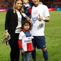 Thiago Silva és Isabelle