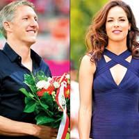 Bastian Schweinsteiger és Ana Ivanovics
