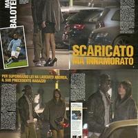 Balotelli újabb szépségkirálynője