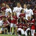 Az AC Milan játékosainak gyermekei a San Siróban