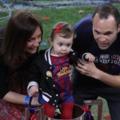 Iniesta családjával ünnepelte a Király-kupa győzelmet