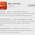 Megjelent a 4.1-es Nike+ app iPhone-ra