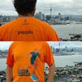Új-Zélandra is megérkeztek pólóink