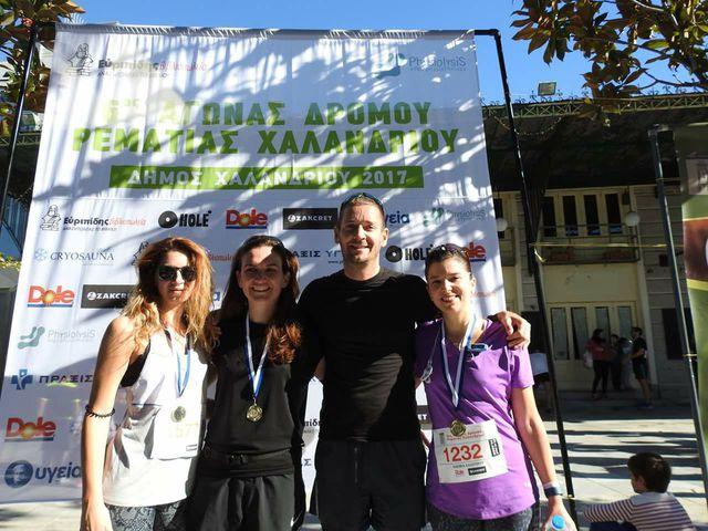 Chalandri 10K verseny - 2017 - Az utolsó tempófutás