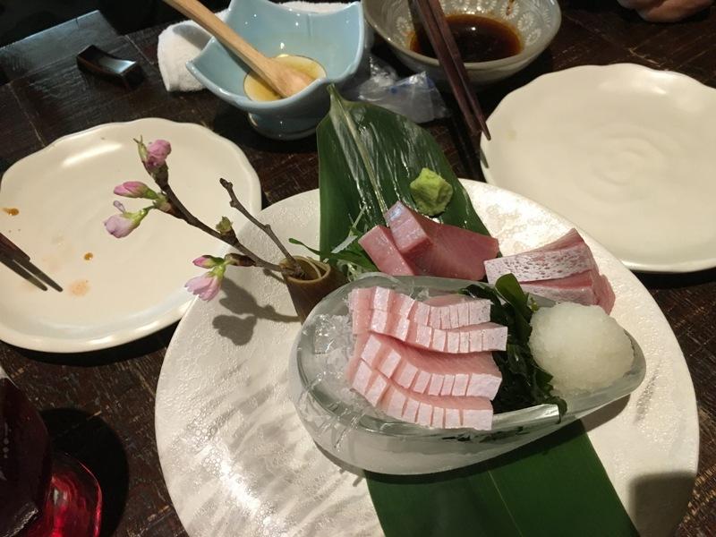 toyamai buri hal nyersen (sashimi)<br />this is toyama yellowtail sashimi