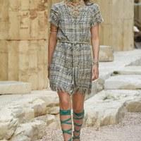 Görög istennők a Chanel kifutóján