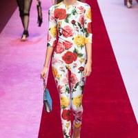 Szívkirálynők a Dolce & Gabbana tavaszi kollekciójában