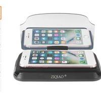 Megint egy trükkös, pontosabban tükrös telefontartó