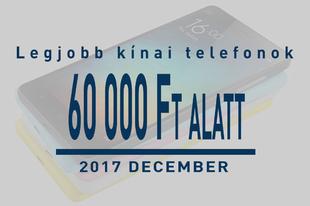 5 legjobb középkategóriás kínai telefon decemberben