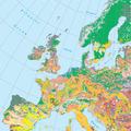Európa talajtérképe