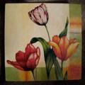 Faliképek virágokról