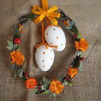Húsvéti kopogtató koszorúk