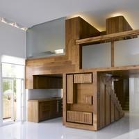 Igazi bútordarab: egy jól beépített galéria, mint hálósarok
