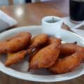Picarones - édesburgonyás-tökös fánk