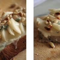 Gorgonzolás-körtés melegszendvics