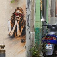 Marseille quartier Le Panier