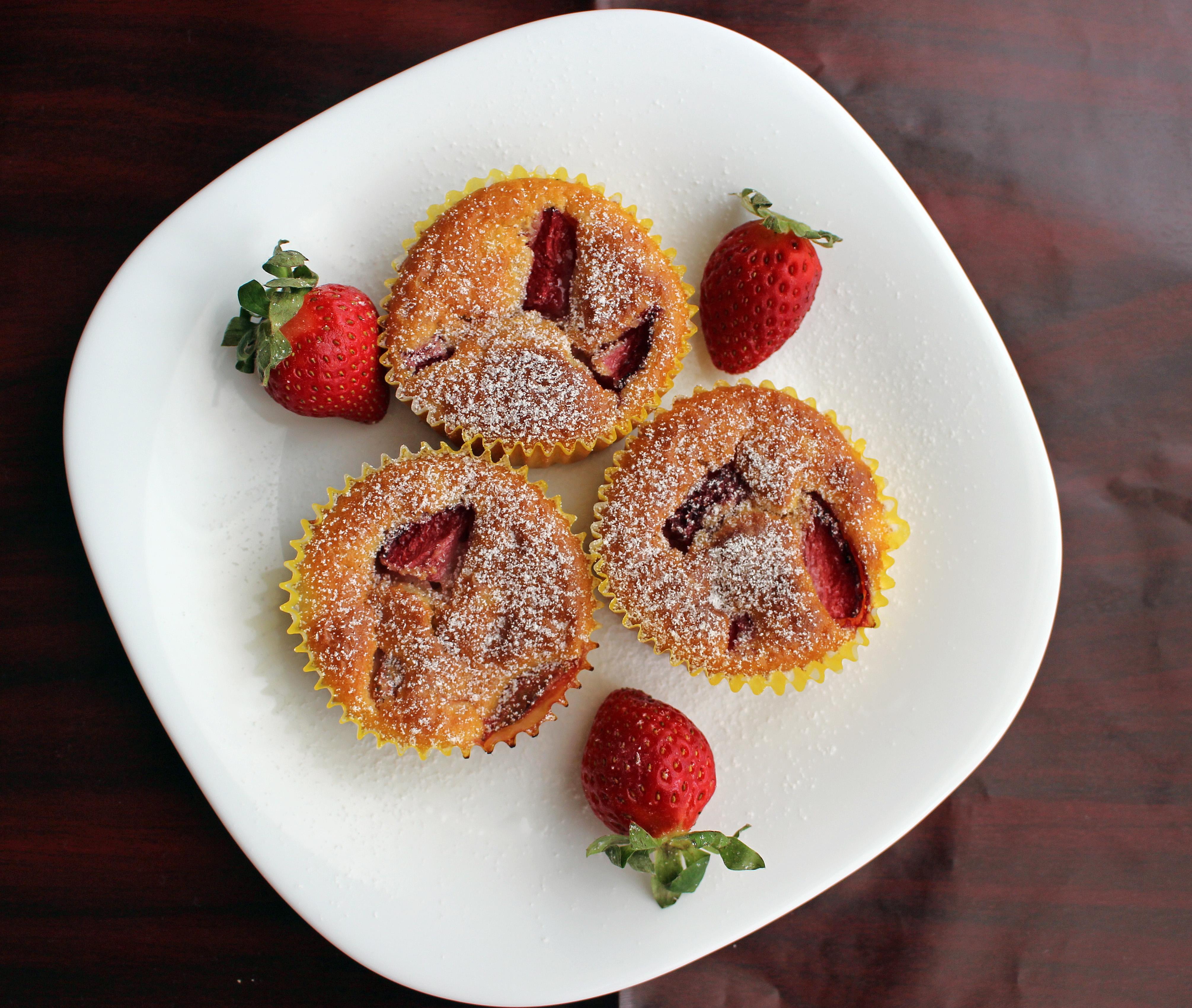 Szezonális sütik - eper és meggy