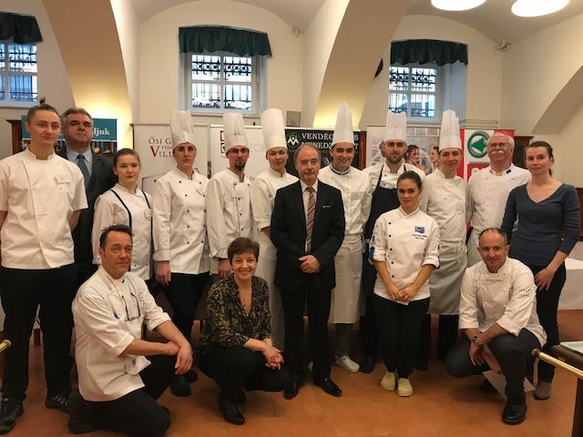 Újabb magyar sikerek a környezetbarát szakácsversenyen