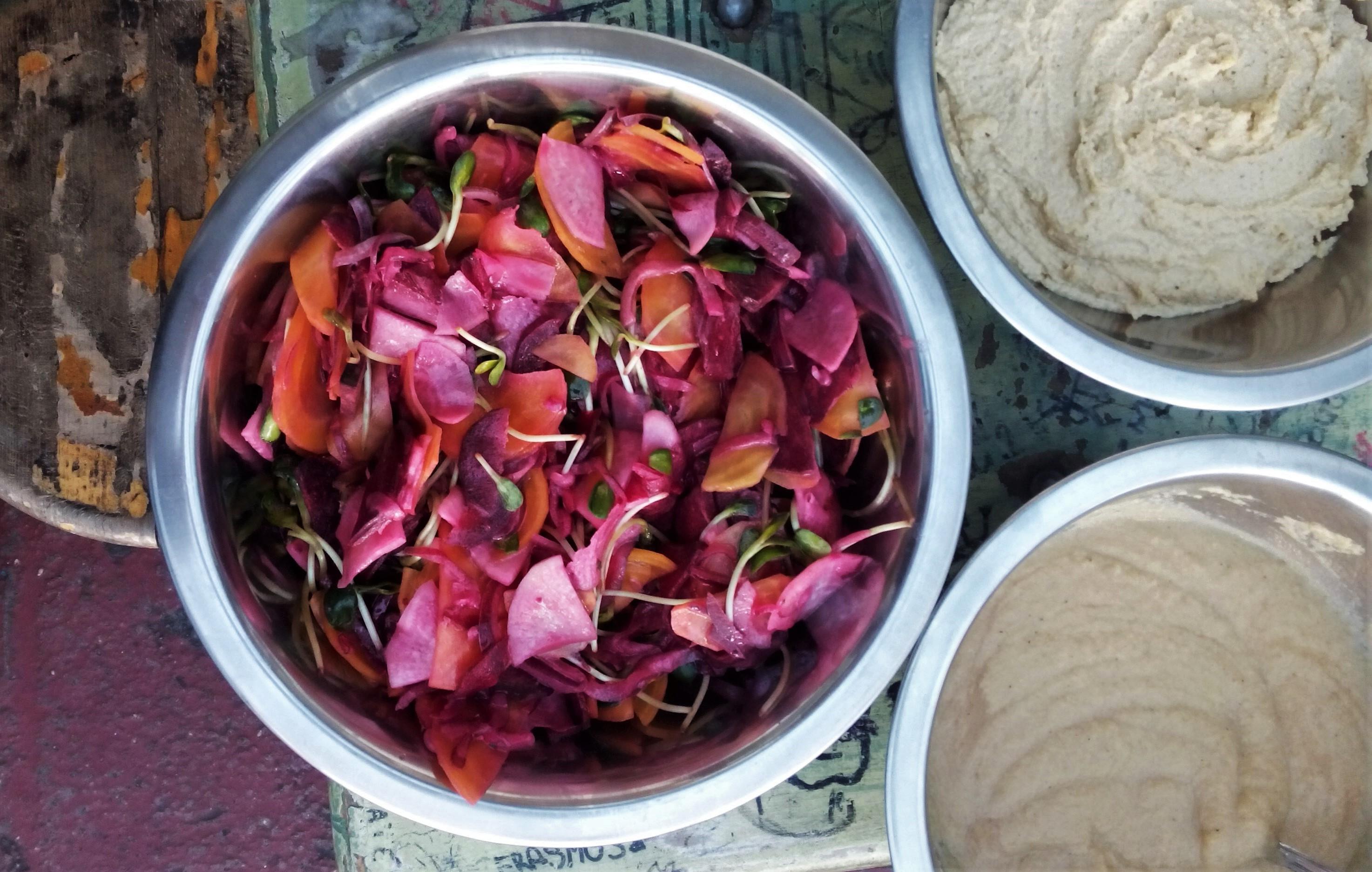 Télen termett táplálék: kampány a helyi zöldségekért