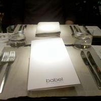Kedvenc budapesti éttermemben, a Babelben szülinapoztunk