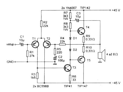 Mosfet power  circuits on wiring diagram for a voltage regulator