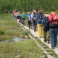 Fjällräven Classic vándortúrán jártunk Svédországban 1. rész