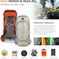 Osprey Atmos AG 65 hátizsák teszt