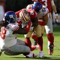Regular season week 10: Giants 21 49ers 31