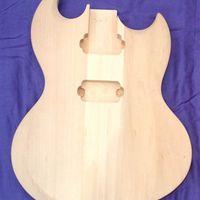A gitártest, és nyak