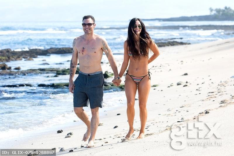 Megan Fox és férje visszatért a paradicsomba
