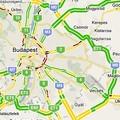 Nyúz: élő forgalomfigyelés a google maps-ben