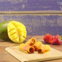 Gyümölcs tekecs csupán 2 összetevőből