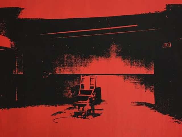 """Raktárból került elő Andy Warhol """"kis villamosszéke"""""""