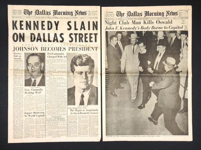 Dallasban, a meggyilkolt Kennedy elnök nyomaiban