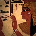 Nefertári lábai
