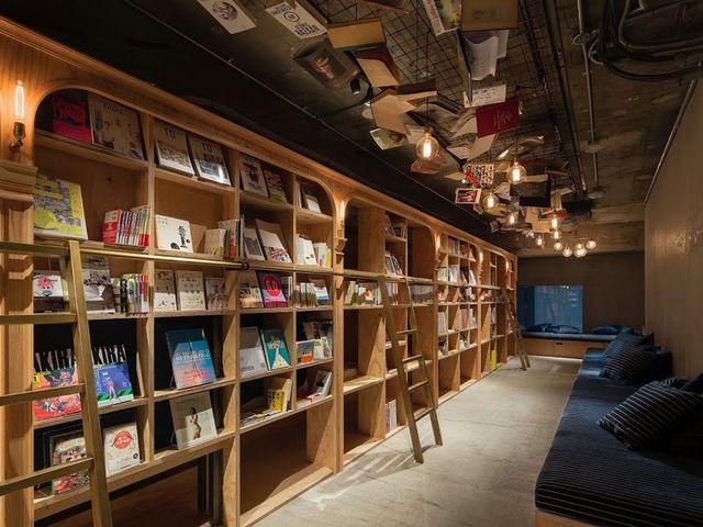 Divat lett a könyvtár-szálloda