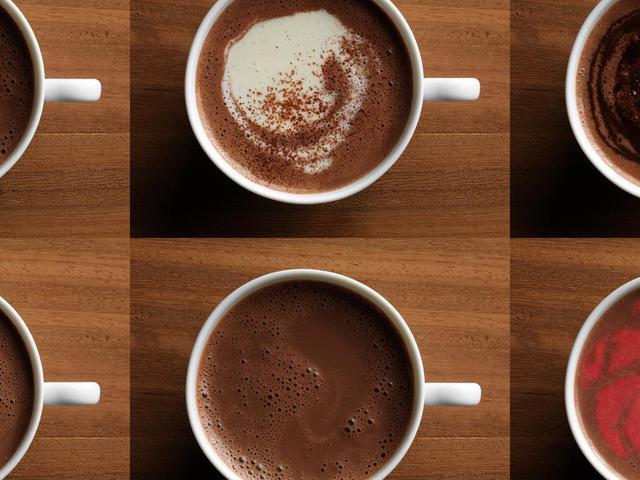 Csokoládé forrón és hidegen