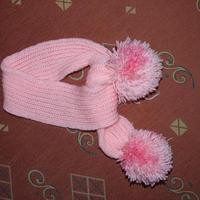 Rózsaszín sál