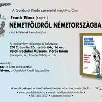 Könyvbemutató lesz Április 26-án