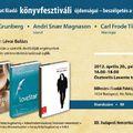 A Gondolat Kiadó Könyvfesztiváli Programja