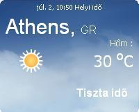görögország 2010 időjárás előrejelzés