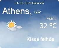 görögország napi időjárás előrejelzés 2010 július
