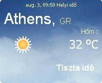 görögország napi aktuális időjárás előrejelzés 2010 augusztus 3 eső felhő vihar