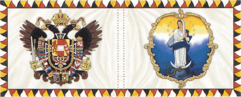 1806. mintájú Leibfahne