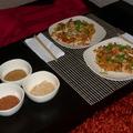 Pad Thai Koong - thai sült rizstészta királyrákkal