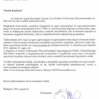 Közérdekű bejelentés: lezárult a vizsgálat