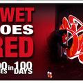 Száz graffiti száz nap alatt - SWET goes RED