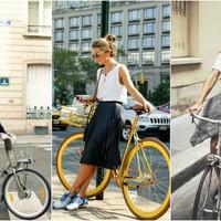 Biciklizés csinosan