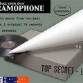 Nyerjen összeszerelhető gramofont lemezekkel!