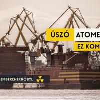 32 évvel Csernobil után: jön a jégen úszó Csernobil